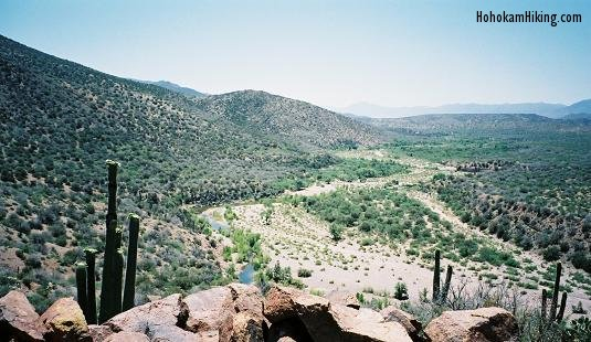 Tonto Creek - looking south from the ruins